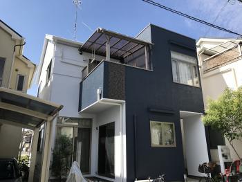 施工事例 リコテック 大阪市 外壁屋根塗装