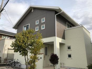 大阪市 外壁屋根塗装 リコテック 施工事例